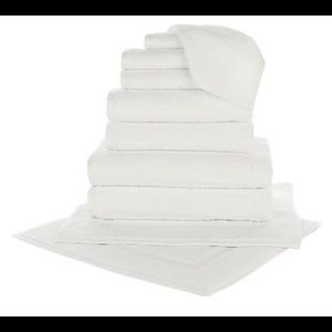 SPECIAL New 10 PC. White  Turkish Towels